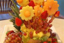 Fruit Arrangements / by Rosemary Camacho-Gonzalez