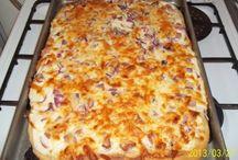 pizza, lángos ...