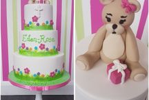 Bespoke christening cakes