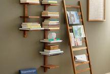 knižnice, regály