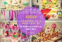 taller de decoracion de fiestas infantiles
