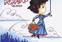 Mary Poppins practically perfect / My favorite Disney character ever!