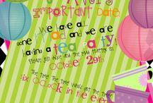 Mad Hatter Tea Party / Noorah's 1st
