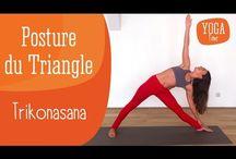 Yoga / Toutes les postures de Yoga en vidéo. Découvrez comment réaliser les positions de yoga et leurs bienfaits pour le corps.