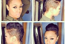 edgy hairstyles for black women