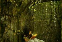Once upon a time fairy tales imitated in life / Everyone has special dreams of a land where all there wildest dreams and stories come true.  / by viviane haxel
