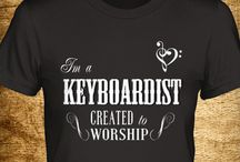 Keyboardist Created to Worship