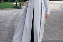 long dress (gamis)