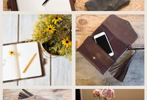 Leather Travel Accessories - Leather Travel Journal / A behind the scenes look-book for classic, hand crafted leather travel accessories