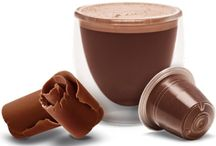 Nespresso Hot Chocolate / Pictures, images and videos of Nespresso compatible hot chocolate capsules and pods.