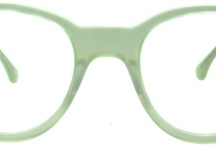 Green / Our collection of glasses and sunglasses in various shades of green.