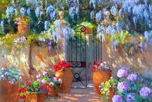 Art - les jardins - les terrasses