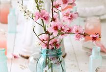 tablescape and centerpieces