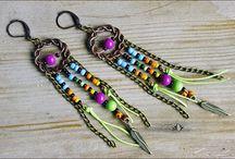 Boho Gypsy jewelry / Handmade boho, hippie, gypsy jewelry. www.etsy.com/SweetlyART / by Sweetly Art