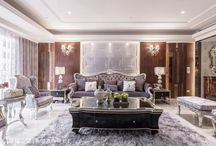 Classic-古典風 / 非常講究空間裡的細節與線板雕刻,因此線條與比例的拿捏特別重要,家具則以華麗外表繁複線條為主。