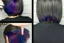 ColorFull Hair / bold and beautifully creative hair styles and colors