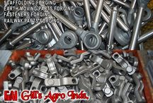 Forging Companies in Punjab / Agriculture Parts Forgings, Forged Harvester Fingers, Automotive Components Forging Parts, Forging Fasteners Items bolts nuts, Eye Bolts, Forged Flanges, Earth Mover Parts, Forged JCB components, Auto Parts Forging, Forged Tractor Parts, Scaffoldings & Couplers Forgings, Railway Fasteners Forgings etc. Mobile: +91-8937800001, +91-8937800002 Email: gillagroindustries@hotmail.com Website: http://www.gillsagroindustries.com