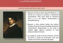 Poesía romántica.
