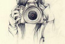 dievča s fotakom