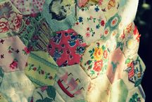 vintage quilts and fabric