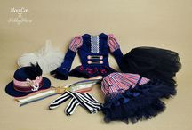 Hobby horse outfits.