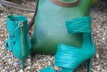 Handbag & shoe combo
