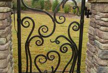 gate,door knockers