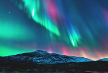 northern lights & more of natures phenomenon & wonders / aurora, electrical storms, volcanic, galactic, ice & fire