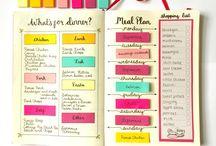 Kalender och måltidsplanering