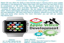apple watch application development
