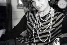 CHANEL (Coco)*****************^********** / Fashion icon / by Donald Breeden