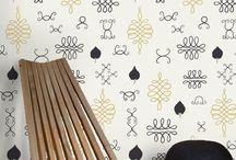 Wallpaper / by Furniture & Home Design