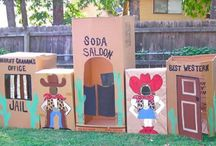 Baby Buckaroos / Western themed activities for youth.