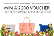 Competitions! / Check out our social media competitions for a chance to win some amazing handbag prizes! / by Handbag.com
