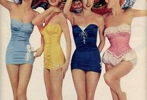 Retro swimsuits