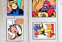"X-Men Portfolio / Artworks by John ""CRASH"" Matos now available at www.artsation.com"