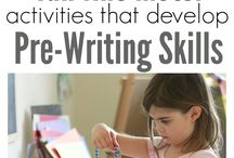 pre-writting skills