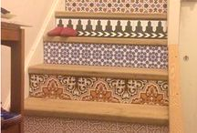 Hallways and stairs / How our fantastic tiles can cheer up your hallways and stairs
