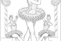 ballet colouring