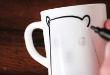 "Sharpie Mugs ☕️ Tazas decoradas / Utiliza rotulador ""Sharpie"" para decorar tazas. Sharpie Mugs"