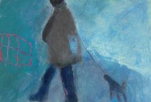 Elaine Turnbull paintings / paintings by contemporary artist Elaine Turnbull