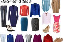 Hourglass type wardrobe