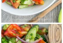 ♨Recipes♨|Salads&Dressings / Sometimes you just want to eat salads and there is dressing you can make too.