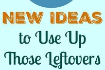 60+ New Idears to use up Leftovers