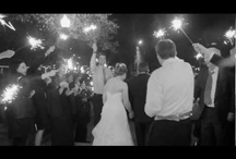 Sparklers / Sparklers make for dazzling wedding getaways.
