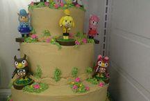 Birthday of Clody Rose Animal Crossing