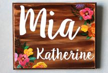 Newborn & Nursery Wood Signs