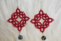 tatting earring / by Morgane Lescure