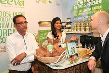Jeeva's Launch in UK / This board contains images of Jeeva's great launch in UK recently at Natural and Organic Products Show! Check it out..