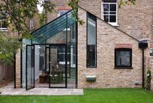 Lean to ideas / Glass lean to and conservatories